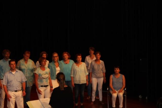 Zanggroep Joy - binnen optreden